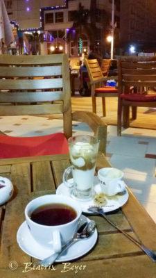Relaxen im Café