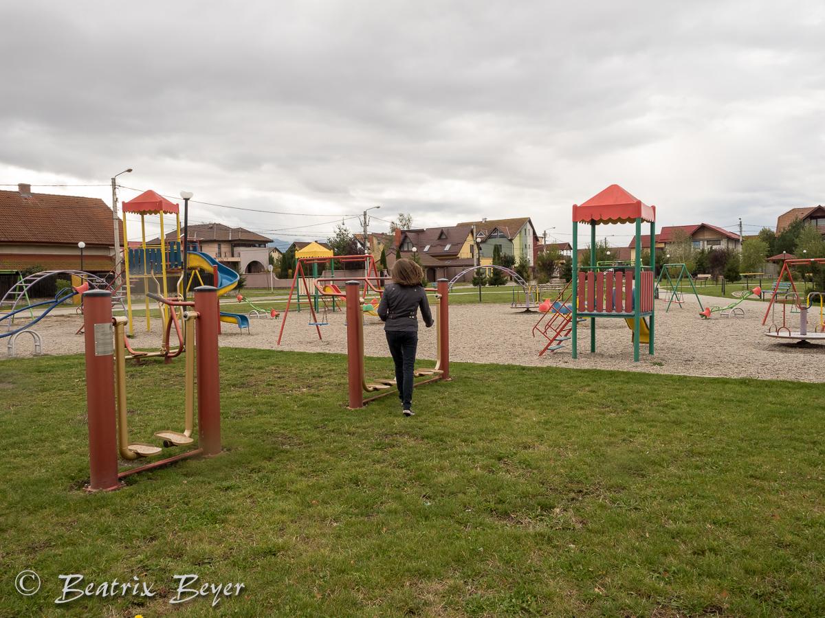 Der Spielplatz - groß und modern