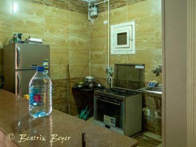 Unser Quartier in der Altstadt Hurghada - die Küche