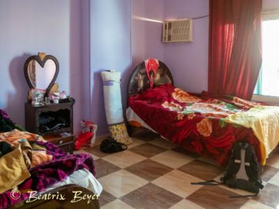 Unser Quartier in der Altstadt Hurghada - unser Zimmer