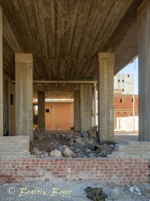 Unaser Quartier in der Altstadt Hurghada - nicht fertig gebaut