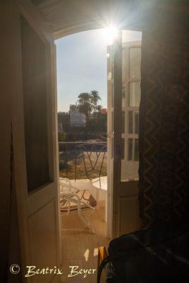 Blick aus Giselas Wohnung
