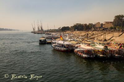 Morgens am Nil