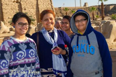 am Karnaktempel