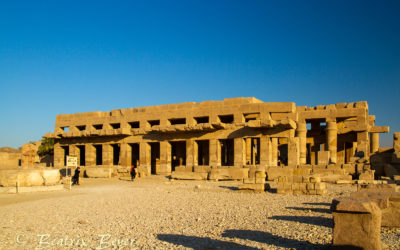 In Luxor – Luxormuseum und Karnaktempel