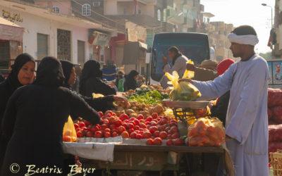 Dienstag – der Gemüsemarkt – mein letzter halber Tag in Luxor