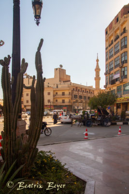 Luxor in der Innenstadt