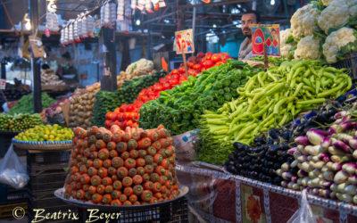 Der Gemüsemarkt in Hurghada