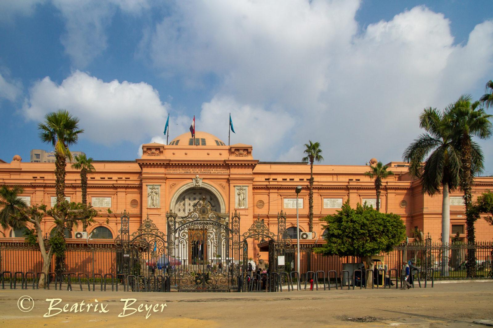 Im ägyptischen Museum