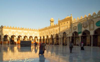 In der al-Azhar-Moschee