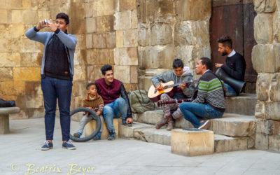 Auf dem Kairoer Basar