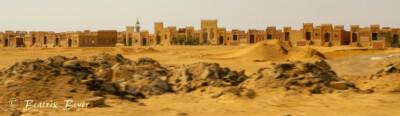 Friedhöfe am Rande von Kairo