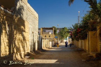 Rundgang im Dorf