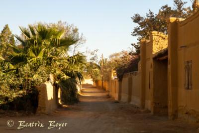 Rundgang durch das Dorf
