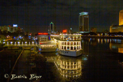 letzter Abend in Kairo
